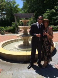 franco and mom